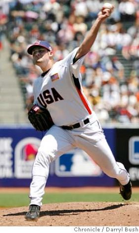 Chuck Lofgren in the 2008 Futures Game