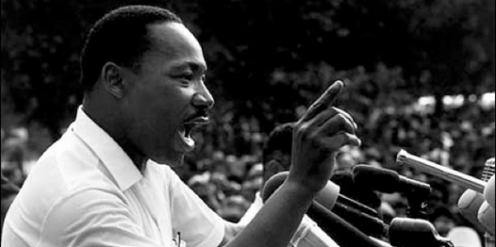 Dr. Martin Luther King, Jr. spoke at Inter-American University in San Germán, Puerto Rico in February 1962.