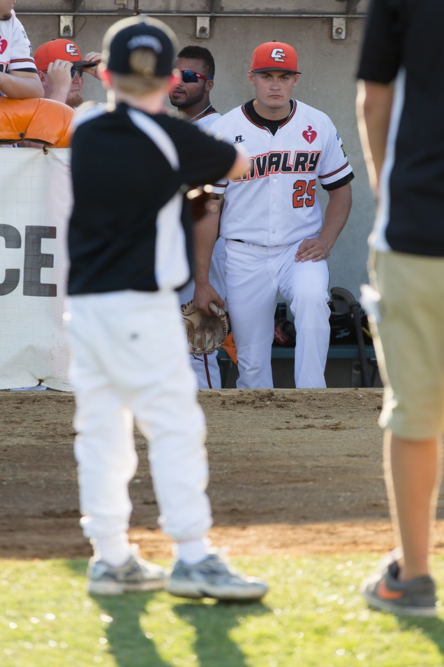 Chris Motta being introduced prior to taking the field on December 22, 2012.  (Ben Southall/SMP Images)