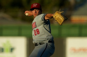 Top 40 American and Melbourne Ace pitcher Kevin Reese (Ryan Schembri / SMP Images)