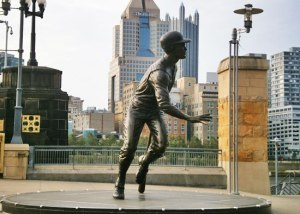 Roberto Clemente statue at PNC Park.