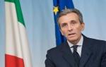 Italian Finance Minister Vittorio Grilli