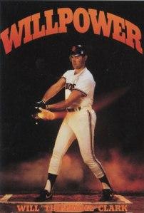 Chuck Lofgren's baseball idol Will Clark