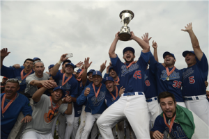 Italia celebrates after defending the 2012 European Championship