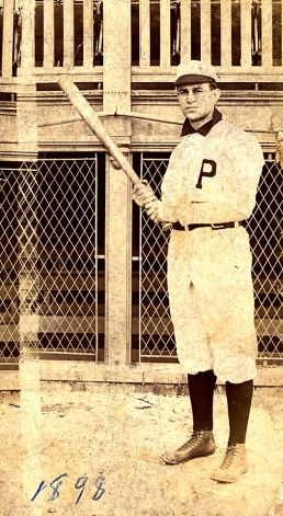 Ed Abbaticchio, probably the first person with an Italian surname to play professionally broke into Major League Baseball in 1897.
