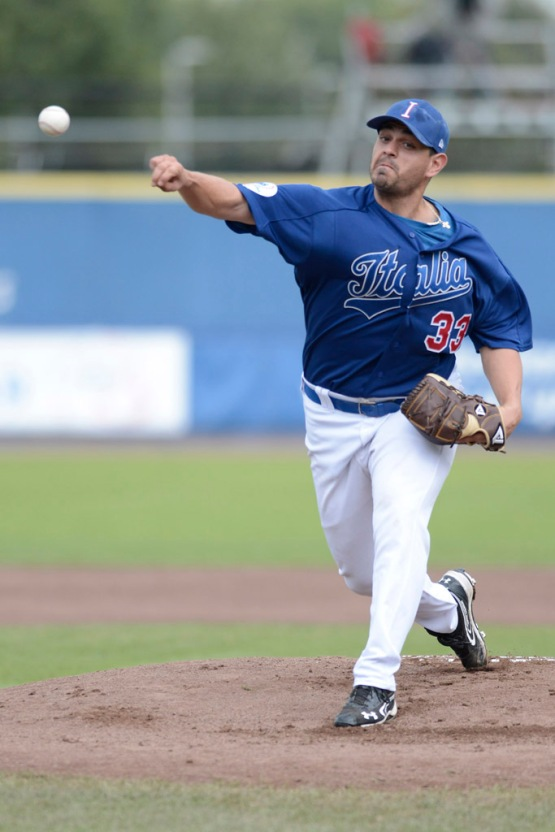 In the 2012 European Championship against the Netherlands, Team Italia winning pitcher John Mariotti limited the Dutch to three hits and one earned run while striking out six.