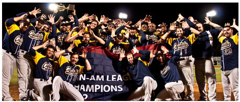 The Quebec Capitales won their fourth consecutive Can-Am League Championship in 2012.