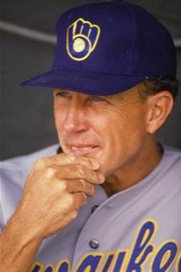 Tom Trebelhorn managed the 1986-1991 Milwaukee Brewers and the Chicago Cubs in 1994.