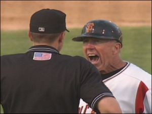 SF Giants managerial assistant Tom Trebelhorn