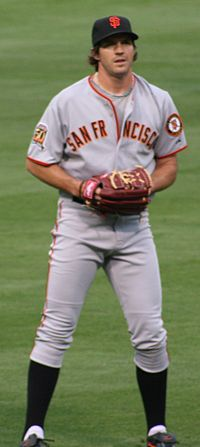 Italian American pitcher Barry Zito