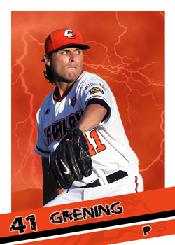 #10 Brian Grening of the Canberra Cavalry
