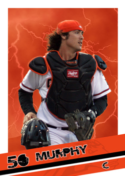 #8 Jack Murphy of the Canberra Cavalry (Photo by Adam East/ozcards.blogspot.com)