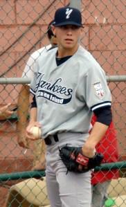 New York Yankees pitching prospect Zachary Arneson