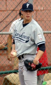 New York Yankees pitching prospect Zachary Arneson