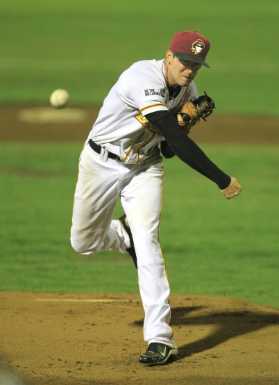 #2 Chris Smith of the Brisbane Bandits (Scott Powick/SMP Images/ABL)