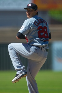 #14 Anthony Claggett of the Perth Heat ( Ryan Schembri / SMP Images)