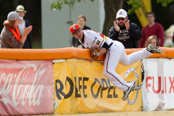 #3 Jeremy Barnes of the Canberra Cavalry (Photo courtesy of Ben Southall  /SMP Images / ABL)