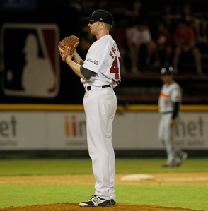 #33 John Frawley of the Perth Heat