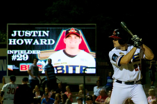 #22 Justin Howard of the Adelaide Bite (Ryan Schembri / SMP Images / ABL)
