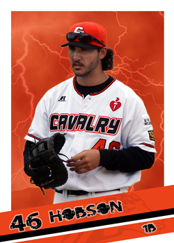 #17 K.C. Hobson of the Canberra Cavalry