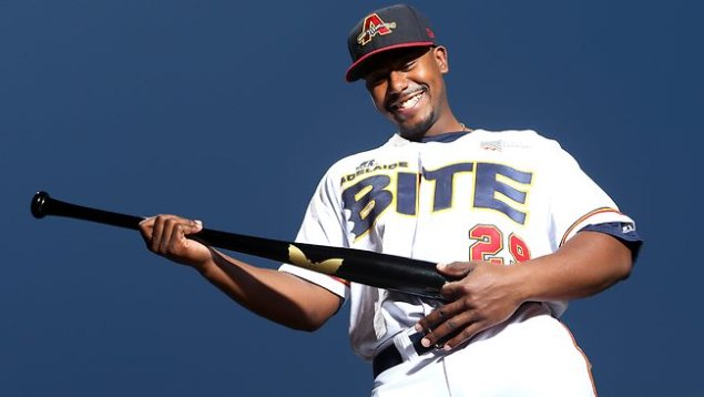 #19 Quincy Latimore of the Adelaide Bite (Photo by Sarah Lee/The Advertiser)
