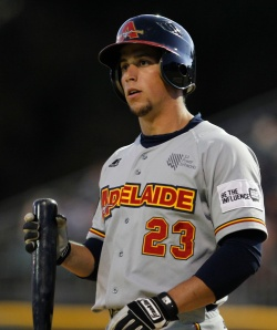#25 Nathan Melendres of the Adelaide Bite (Theron Kirkman / ABL Images)