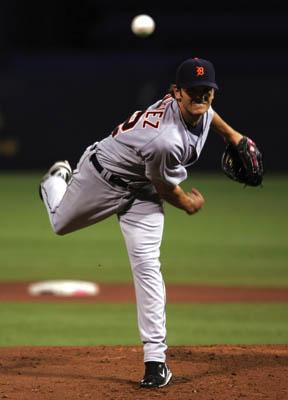 Pitcher Virgil Vasquez made his MLB debut on May 13, 2007 for the Detroit Tigers.
