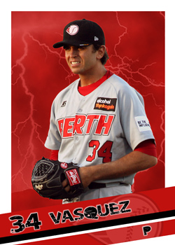 #4 Virgil Vasquez of the Perth Heat