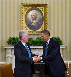 Although Italian Prime Minister Monti was promised by U.S President Obama that America would help Italy in times of need, the World Baseball Classic scheduling committee has not offered Team Italy any concessions with their unorthodox and unreasonable schedule which no other team in the competition must undergo.