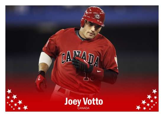 Team Italy pitcher John Mariotti will face many of his fellow Canadian baseball buddies including Joey Votto.
