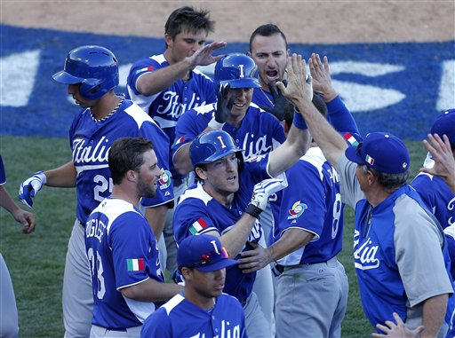 Chris Denorfia was the integral to Team Italy's success in the 2013 WBC.