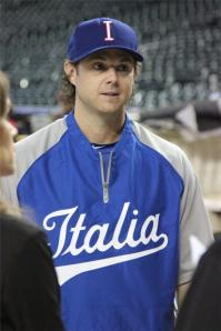 2013 Team Italia coach Frank Catalanotto