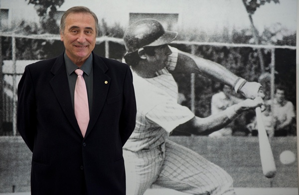 "Sal Varriale left a job as a Wall Street accountant to become the first  ""oriundo"" or Italian American to play ball in Italy in 1972."