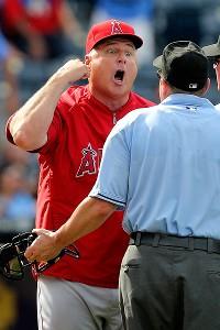 Not even umpires mess with Scioscia.