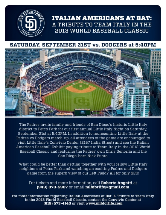 Little Italy Night at Petco Park
