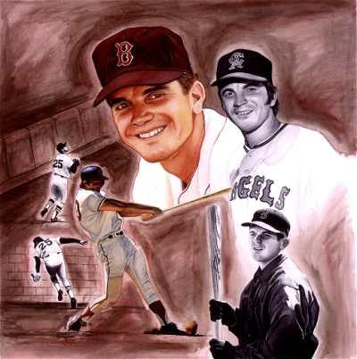"Tony Conigliaro ""Spirit and Determination"" by James Fiorentino"