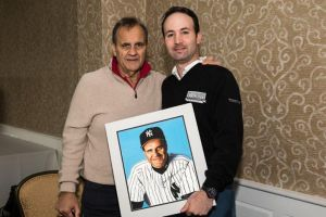 MLB Executive VP of Baseball Operations Joe Torre and James Fiorentino