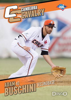 2013 ABL Triple Crown Winner and San Diego Padres prospect Adam Buschini