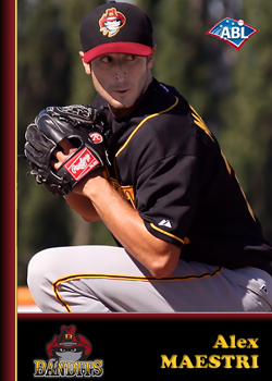 2011-12 ABL Fan Favorite Alex Maestri of the Brisbane Bandits