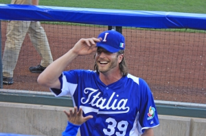 Team Italia closer Jason Grilli