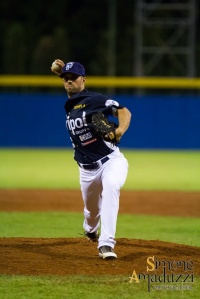 Nick Pugliese is one of the most dominant pitchers in the Italian Baseball League.