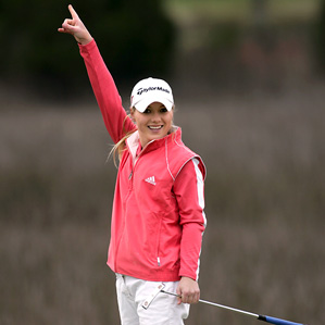 Defying the odds, former LPGA golfer MacKinzie Kline pursued her dreams with the help of heart surgeon Dr. John Lamberti.