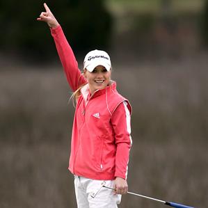 Defying the odds, former LPGA golfer MacKinzie Kline pursued her dreams with the help of heart surgeon Dr. John Lamberti.