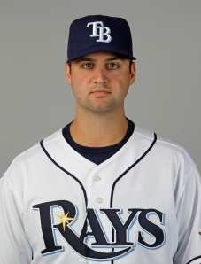 Matt Torra in 2012 as a member of the Rays organization.