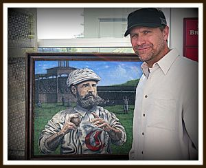 Renowned artist Chris Felix will be at Conivivio on Saturday, January 4th.