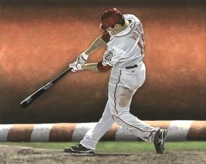 """Joey Votto 2012"" by Chris Felix"