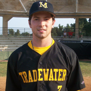 Reid Rizzo in 2012 playing for the Madisonville Tradewater Pirates