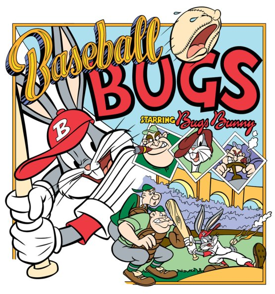 Baseball Bugs Poster by Kim Reynolds (photo courtesy of Warner Bros.)
