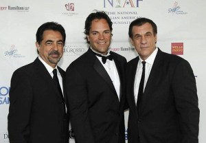 Mike Piazza and friends at the National Italian American Foundation Gala