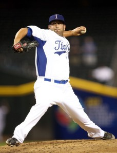 T&A San Marino lefty Chris Cooper has pitched for Team Italia since leaving AAA ball in 2009.